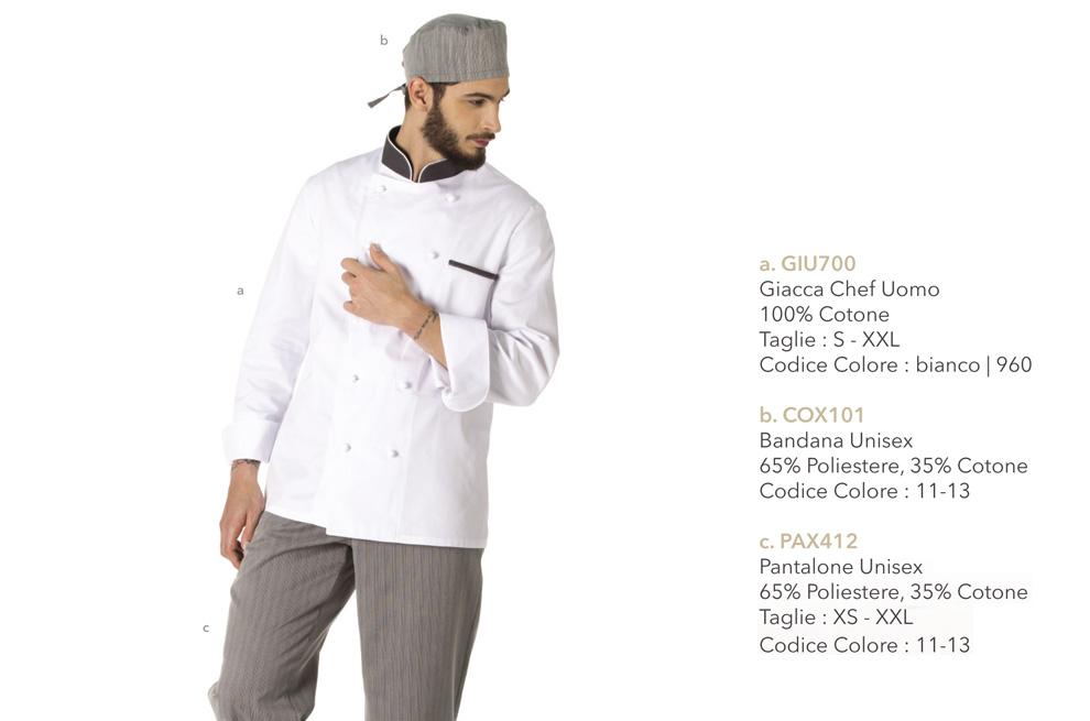 Divise e Giacche da Cuoco Mevi: Nuovi Modelli pratici e funzionali