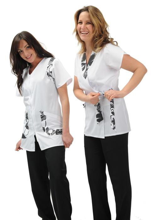 Abbigliamento da lavoro e camici per estetiste e centri benessere