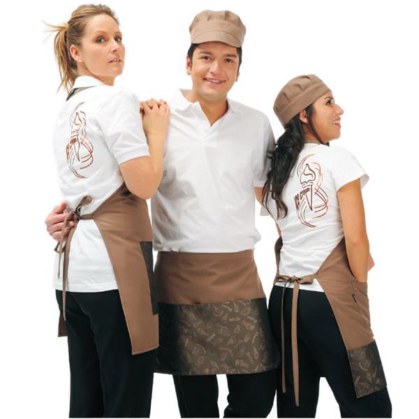 Abbigliamento professionale Coordinati uomo e donna bar gelaterie