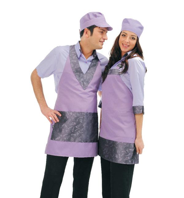 Abbigliamento professionale Grembiuli e polo per bar gelateria