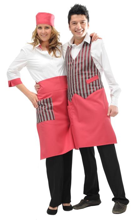 Abbigliamento professionalepersonalizzato per bar e gelaterie