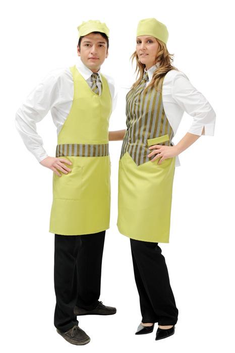 Abbigliamento professionale Coordinati uomo donna per bar