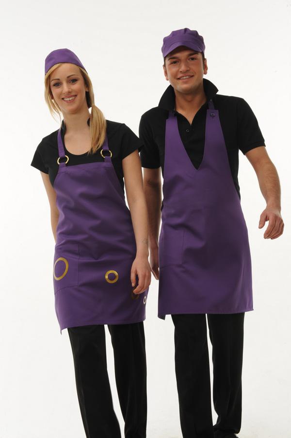 Abbigliamento professionale coordinato uomo donna