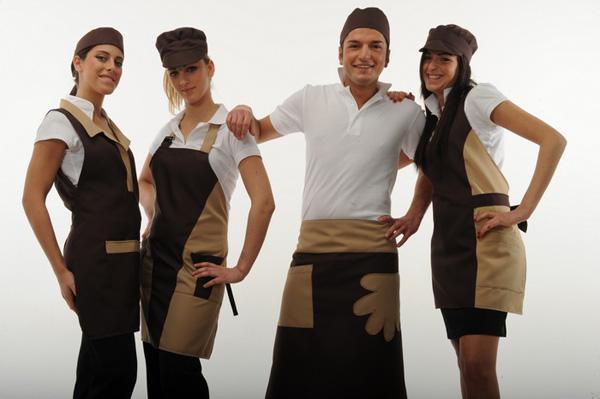 Abbigliamento professionale per bar caffetterie hotel pasticcerie ristoranti