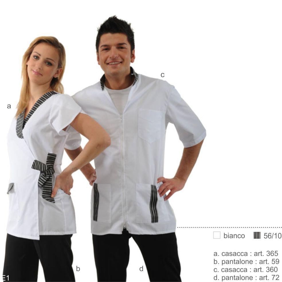 Abbigliamento professionale per beauty farm, centri estetici, estetiste, spa, gastronomie, supermercati