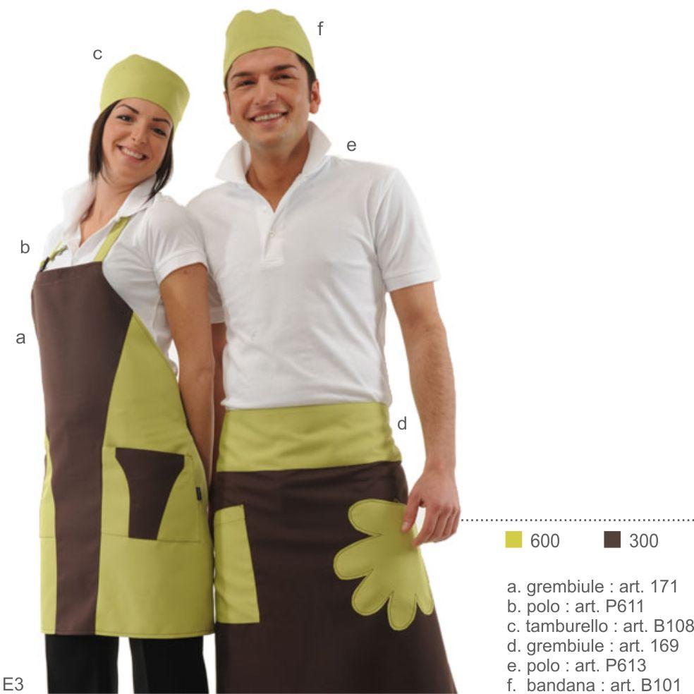 Abbigliamento professionale per gelateria, pasticceria, bar, caffetteria