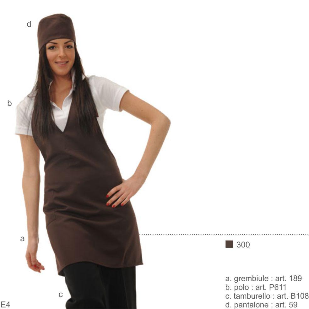 Abbigliamento professionale per bar, hotels, pasticcerie, alberghi, gelaterie, supermercati