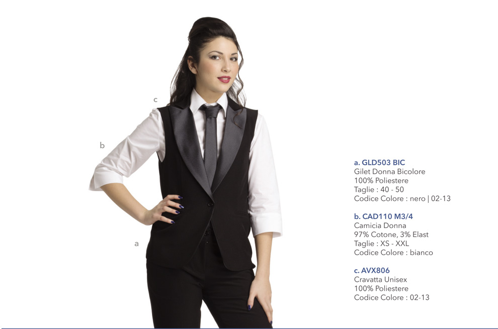 Divisa da Lavoro per ristorante, agriturismo, catering, reception, pasticceria, hotel