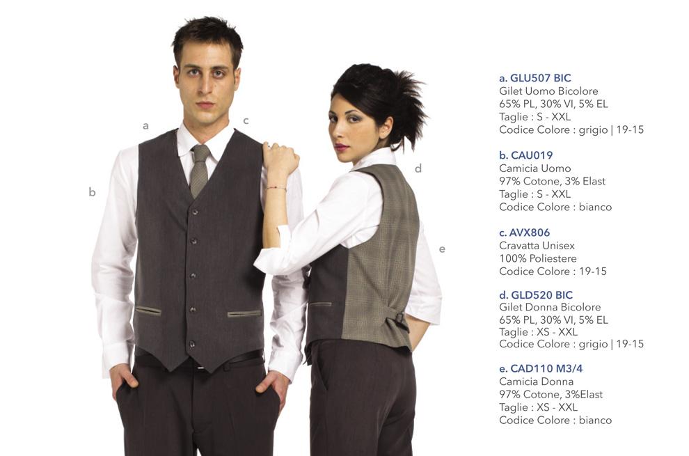 Abbigliamento Professionale per bar, caffetteria, enoteca, pasticceria