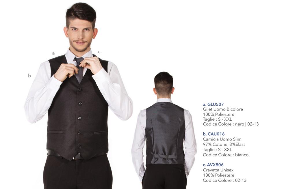 Abbigliamento Professionale per bar, caffetterie, cioccolaterie, hotel, pasticcerie, ristoranti