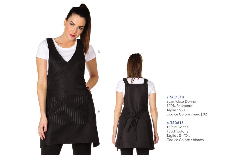 Abbigliamento Professionale per alberghi, reception, hostess, tour operator, catering, hotel