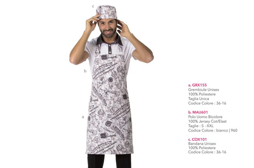 Abbigliamento professionale per Ristoranti, Forni, Panifici e Gastronomie