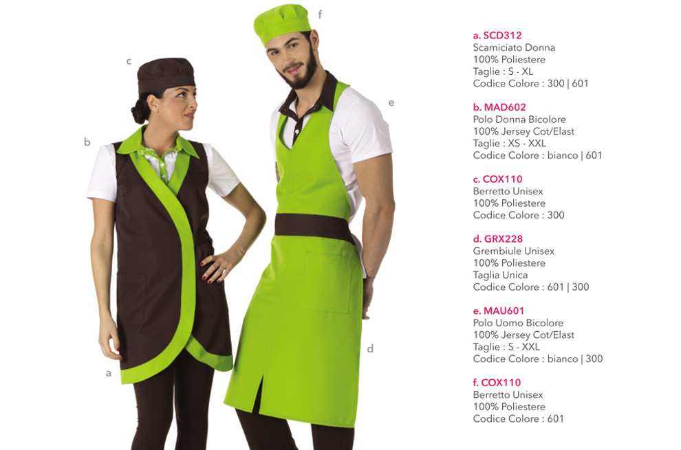 Abbigliamento professionale adatto per Alberghi ed Hotels ac688c1c42fc