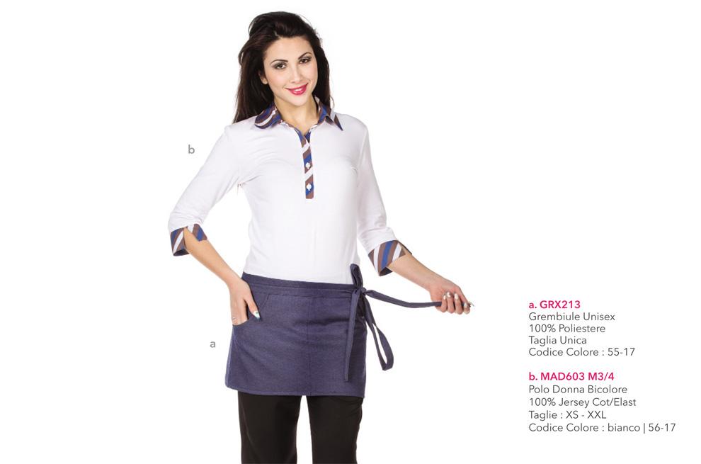 Abbigliamento professionale per Pasticceria, Gelateria, Yogurteria, Bar, Ristorante, Albergo ed Hotel