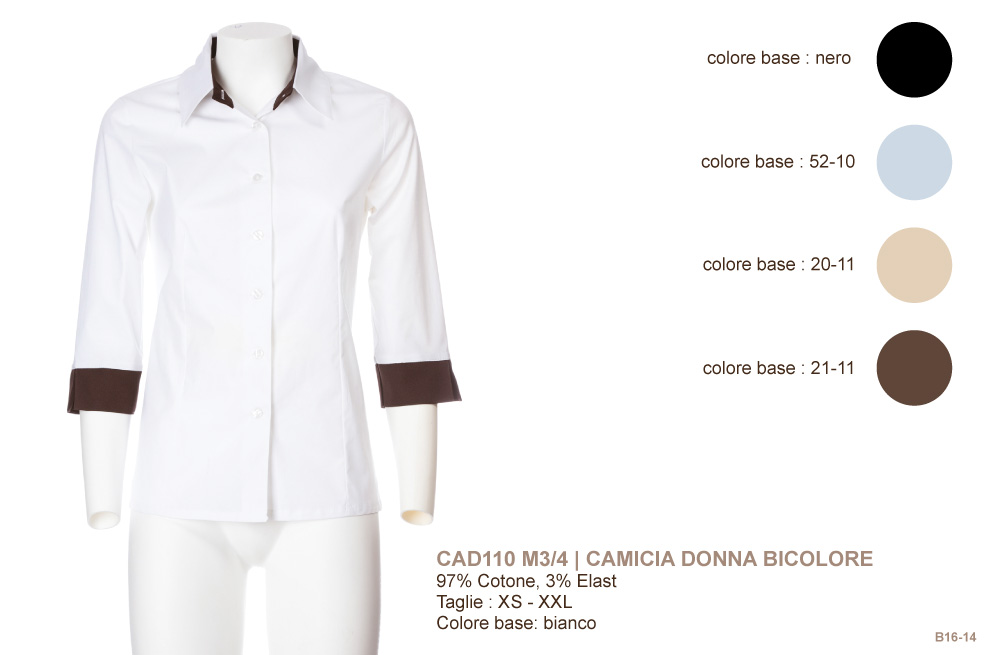 Abbigliamento professionale per ristorante, hotel, lounge bar, receptionist, cameriera, hostess, bar, agriturismi