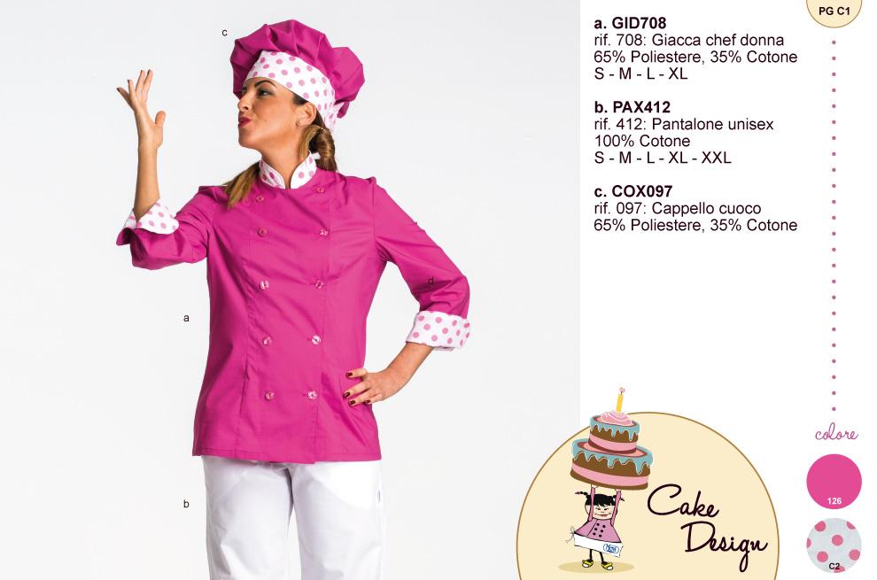 Abbigliamento professionale per cake design