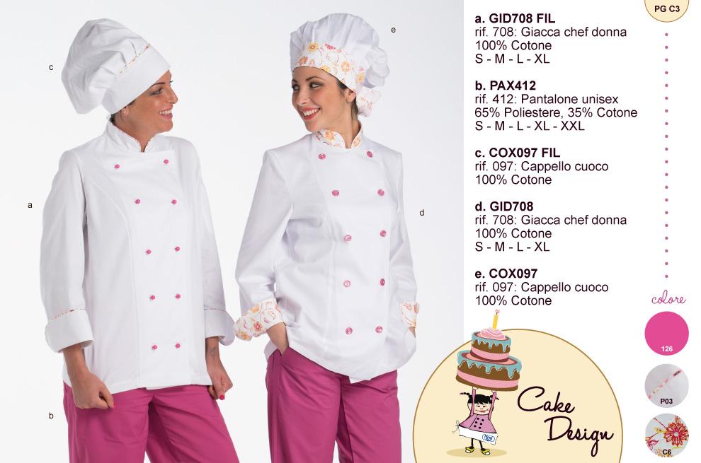 Abbigliamento per Cake Design