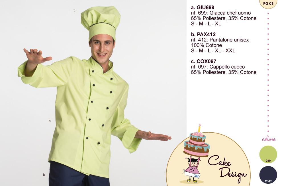 Abbigliamento da lavoro o per semplici hobbisti del cake design