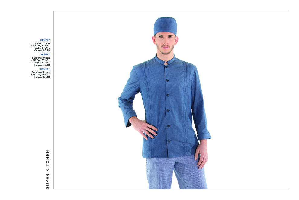 Abbigliamento Professionale per Chef 75aad6a3ecdf