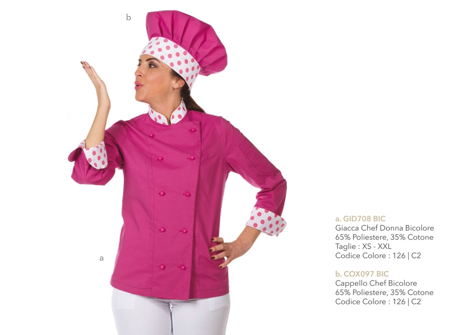 Nuova Giacca per il Cuoco e lo Chef