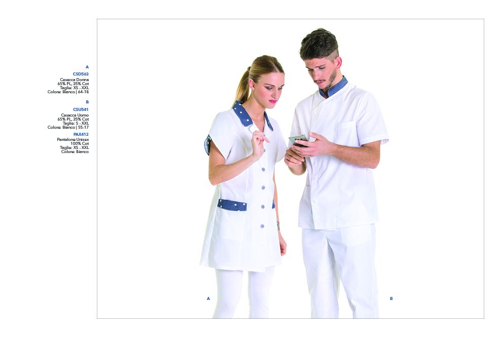 Abbigliamento da lavoro per Farmacie, Operatori Sanitari, Imprese Pulizie, Medicale, Cliniche Private, Ambulatori, Ospedali
