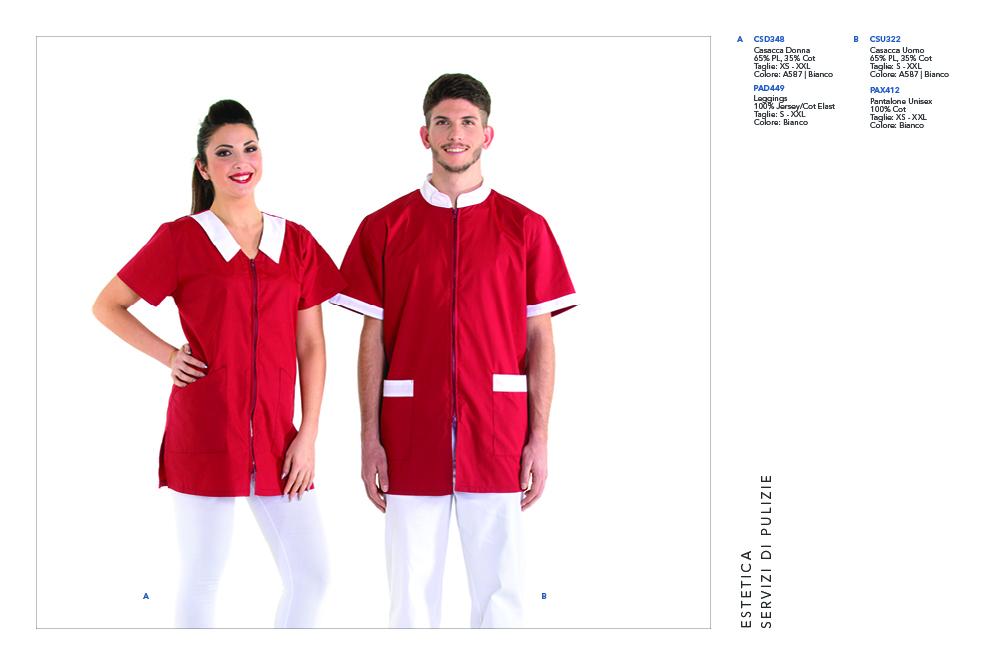 Abbigliamento da lavoro per Fisioterapisti, Operatori Sanitari, Imprese Pulizie, Medicale, Cliniche Private, Massaggiatrici