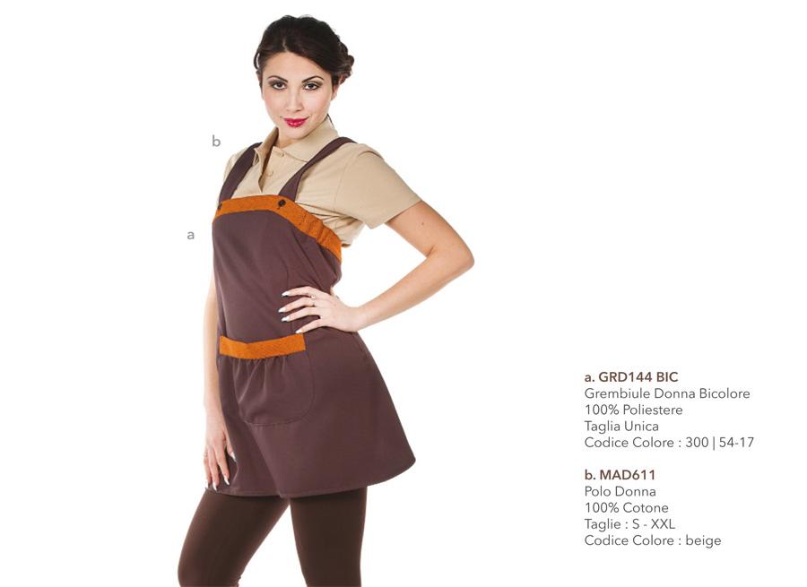 Abbigliamento Professionale per imprese pulizie, estetiste, beauty farm, centri estetici, gastronomie