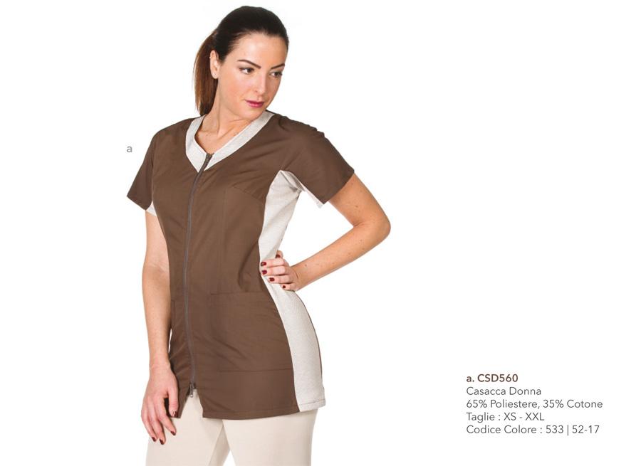 Abbigliamento Professionale per Estetiste e Centri Benessere 77ab9fb5ad98