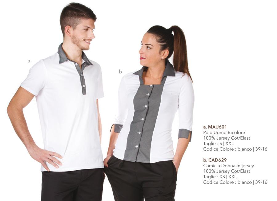 Camicia per Massaggiatori, Fisioterapisti, operatori del benessere