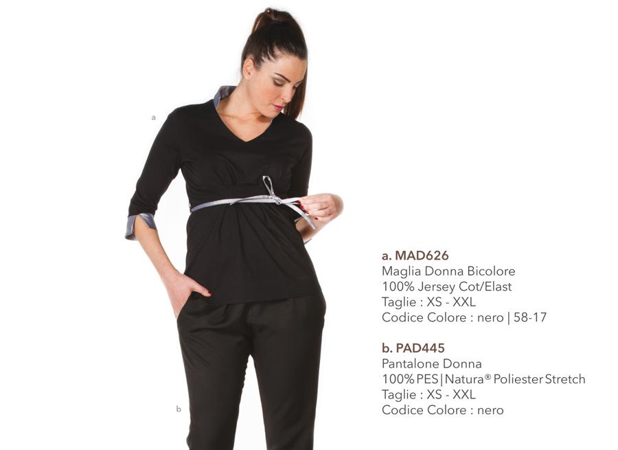 Abbigliamento professionale per pasticcerie, cioccolaterie, centri estetici, parrucchiere, hotel, spa