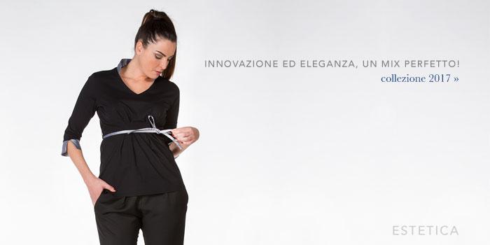 Mevi Divise ed Abbigliamento Professionale per SPAs, centri estetici, centri benessere, Hair Stylist