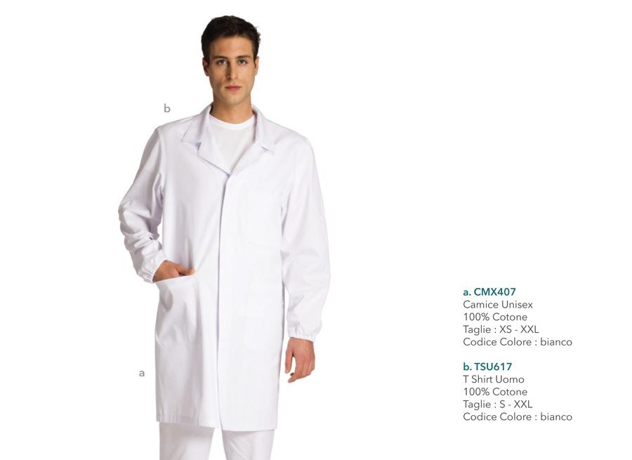 Abiti da lavoro per medici, dentisti, infermieri, assistenti, fisioterapisti, operatori sanitari