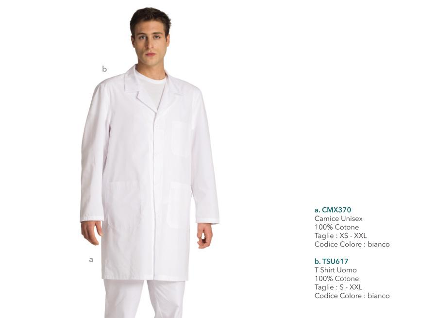Abbigliamento da lavoro per dentisti, infermieri, medici, laboratori medici, fisioterapisti, operatori sanitari