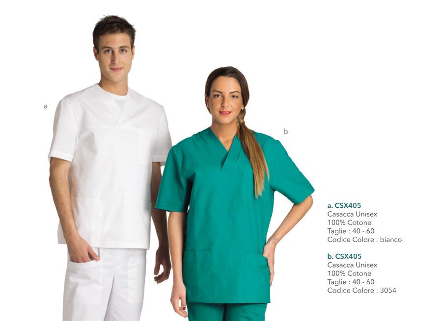 Abiti da lavoro per medici, assistenti, dentisti, operatori sanitari, fisioterapisti