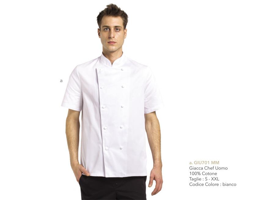 Divise chef, Abbigliamento professionale per Gastronomie, Panifici, Gelaterie, Pasticcerie e Bar