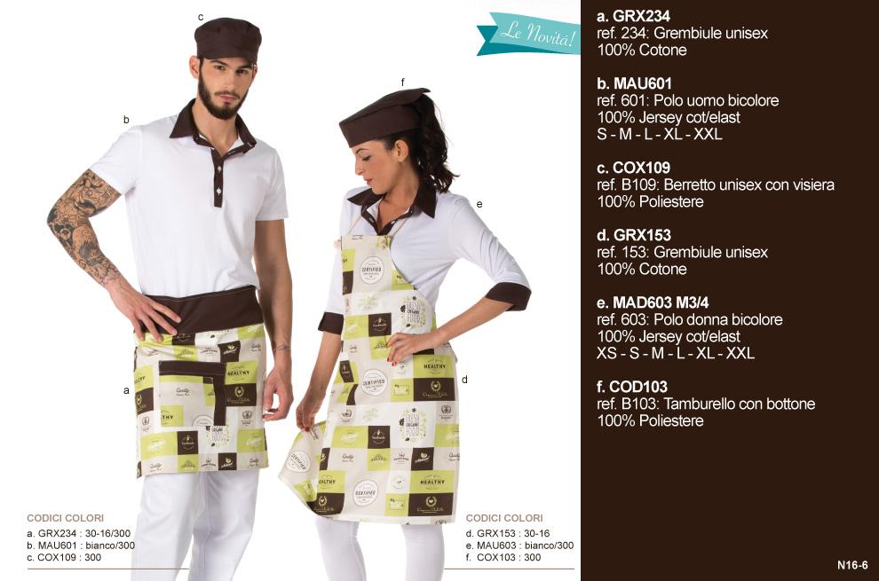 Abbigliamento professionale Mevi  Ecco tutte le NOVITA  2016 cce5427979a5