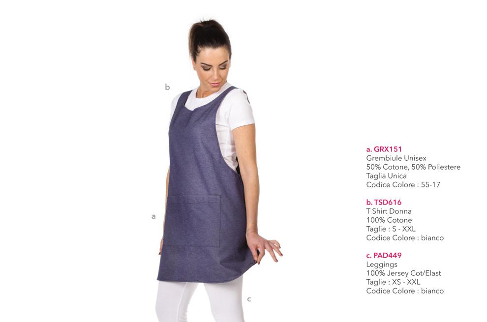 Abbigliamento professionale per, Hotel ed Alberghi, Forni, Gastronomie, Panifici, Gelaterie e Pasticcerie