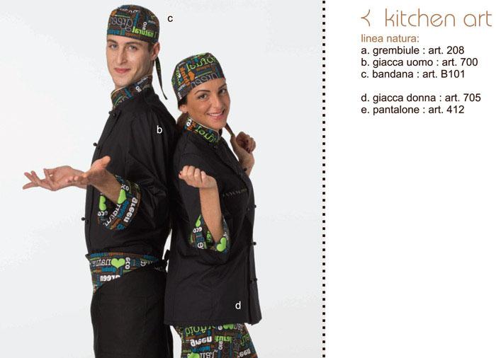 Abbigliamento professionale e da lavoro collezione oasi 2013 - Abbigliamento da cucina ...